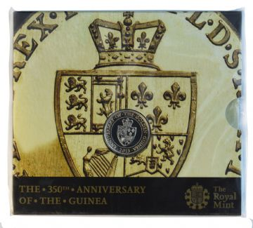 2013 £2  Anniversary of the Guinea Brilliant Uncirculated pack